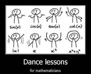 Dance Lessons for Mathematicians